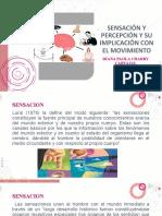 SENSACION Y PERCEPCIÓN INTEGRACION MVTO