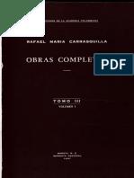 Ensayo Sobre La Doctrina Liberal (1895) - Mons. Rafael María Carrasquilla