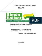 TRABAJO TRANSMISIONES IV-2-TIPOS DE CAJAS AUTOMATICAS
