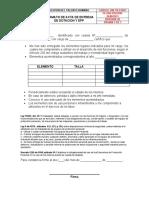 Entrega de Dotacion y EPP pendiente por codificar