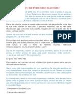 RELATO DE PEDRINHO ELIZONDO