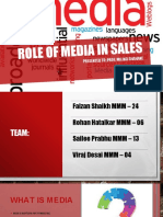 Role of Media in Sales
