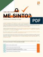 checklist profissionaissaude