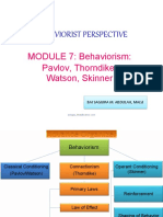 module7-behavioristperspective-170915072303