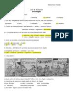 Lista de exercícios - Fonética e Fonologia
