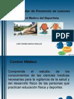 CONTROL MEDICO DEL DEPORTISTA.ppt