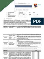 PLAN ANUAL PRIMERO - ARTE Y CULTURA - 2020