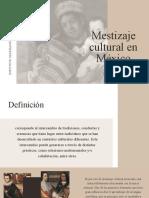 Presentación mestizaje cultural