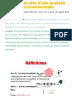 exemple de Procédure d'identification des aspects et impacts environnementaux