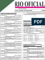 Diario Oficial 31-07-2020