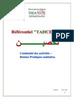 Label TAHCEINE_Referentiel