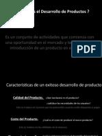 Presentacion Product development 2