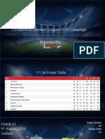 Liverpool Premier League 19-20 Journey