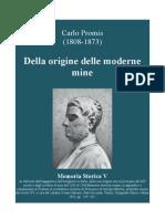 PROMIS Carlo. On the Origins of modern mine warfare. 1841