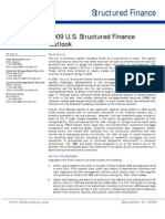 Fitch - 2009 Structured Finance Outlook