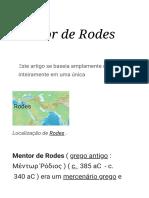 Mentor de Rodes - Wikipedia