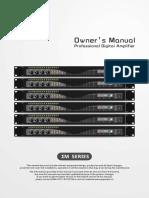 Amplificador EM-4122 4 x 3500W Manual