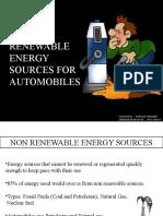 non renewable sources