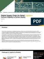 Digital Supply Chain for Retail Logistics