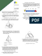 pirámide y cono