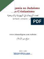 A Poligamia no Judaísmo e no Cristianismo
