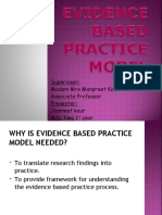 evidence based practice model.ppt