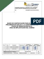 Bases Cont. Estudio Preliminar de Suelos