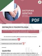 DISTOPIAS GENITAIS