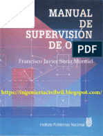 MANUAL DE SUPERVISIÓN DE OBRA-FRANCISCO JAVIER SORIA MONTIEL