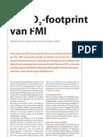 Duurzaamheid FMI - FMI zomernummer 2010