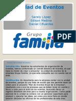 Unidad de Eventos- Grupo Familia.