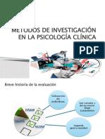 CAPÍTULO 2. MÉTODOS DE INVESTIGACIÓN EN LA PSICOLOGÍA CLÍNICA