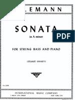 Sonata in La min Telemann
