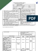 Plan de administración y evaluación (Propuesta)
