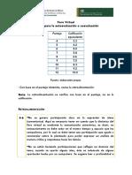 Criterios para evaluar_Foro Virtual