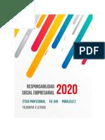 Responsabilidad Social Empresarial (RSE) Etica Profesional