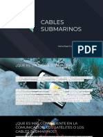 CABLES SUBMARINOS.