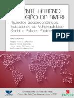 E-book 2017 IMIGRANTE HAITIANO NA REGIÃO DA AMFRI