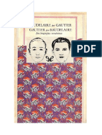 Gautier Theophile Y Baudelaire Charles - Baudelaire Por Gautier Y Gautier Por Baudelaire