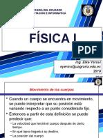 9. FISICA I-MOVIMIENTO DE LOS CUERPOS - MRU.pptx