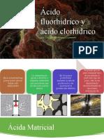 Ácido fluorhídrico y ácido clorhídrico