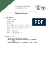 Español y Matematicas Ana