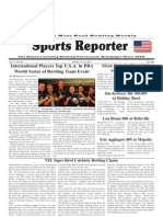 January 19, 2011 Sports Reporter