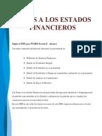 MODELO DE NOTAS A LOS ESTADOS FINANCIEROS