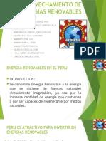 6 APROVECHAMIENTO DE ENERGÍAS RENOVABLES