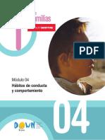 1HABITOS DE CONDUCTA Y COMPORTAMIENTO