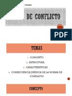 Norma de Conflicto