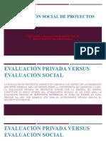 EVALUACION SOCIAL DE PROYECTOS