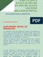11. EVALUACIÓN SOCIAL DE PROYECTOS