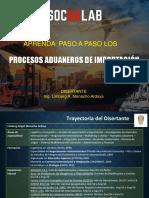 PROCESOS ADUANEROS DE IMPORTACION ENE 2020